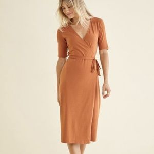 Amour Vert Alessia wrap dress